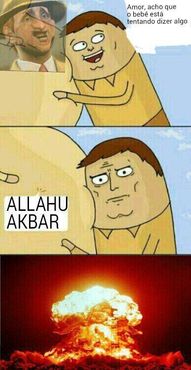 Allah akbar - meme