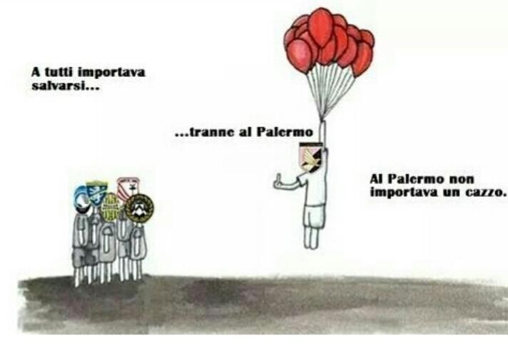 Forza Palermo ma che cazzo - meme