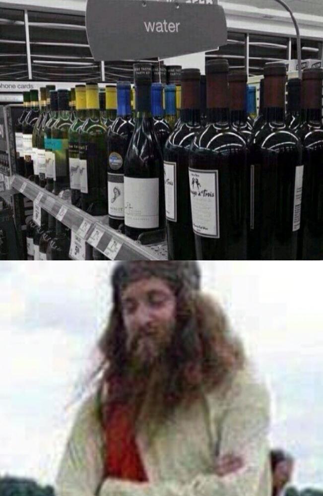 Jesus was here - meme