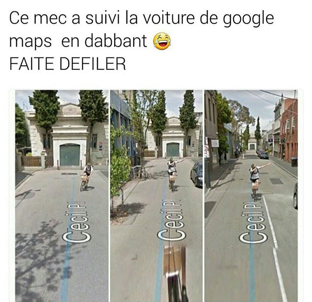 NE FAITES PAS DÉFILER C'EST UN PIÈGE !!!! - meme