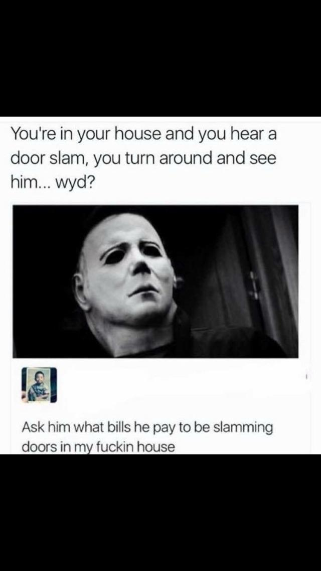 What bills do you pay? - meme