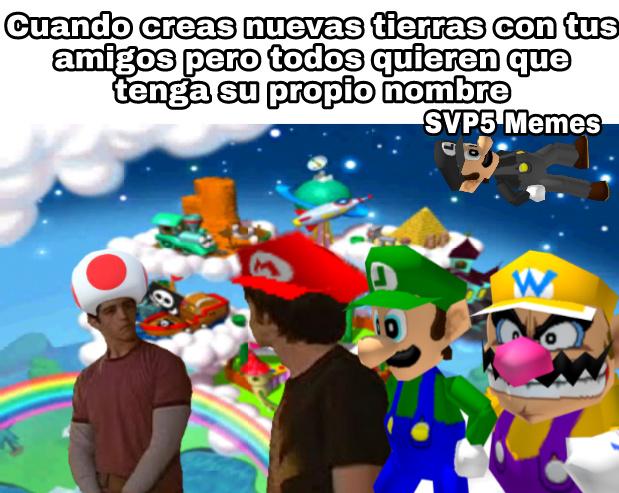 1-Nueva marca de agua  2-Mario Party 2 - meme