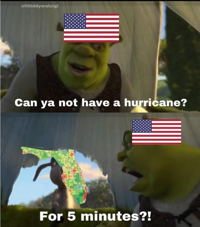 Florida Hurricane - meme