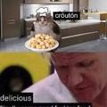 croissant au fromage de la baguette