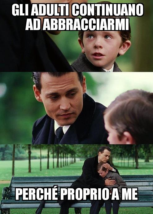 Bambino triste - meme