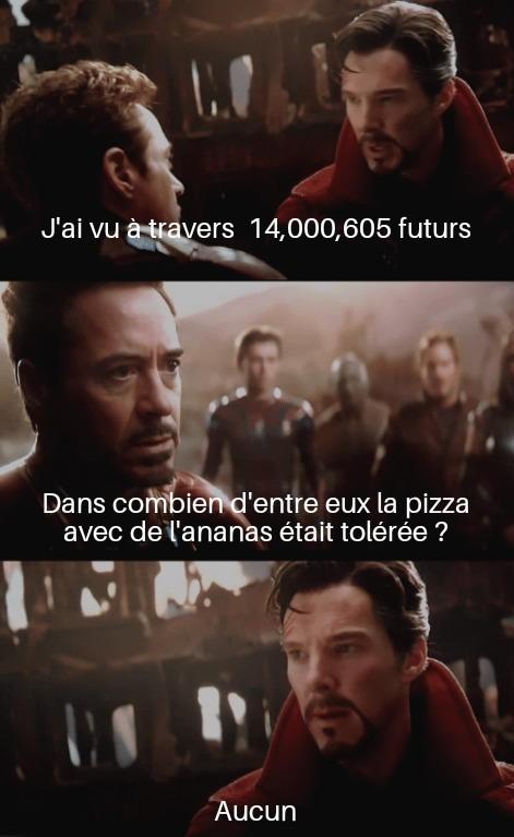 Je réclame justice ! Que cette pizza soit bannie du royaume ! - meme