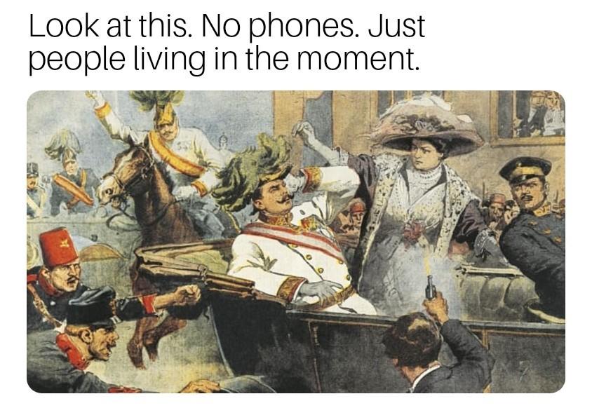 RIP Franz Ferdinand - meme