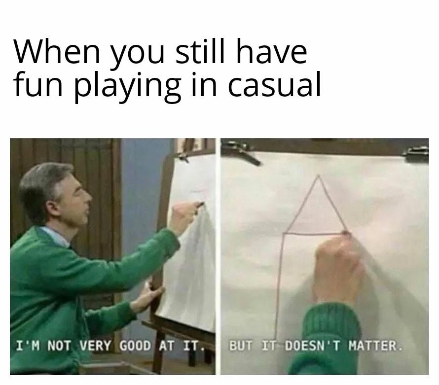 No need of ranked - meme