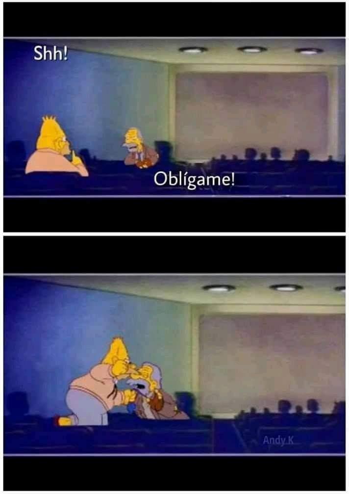 Obligame pvto - meme