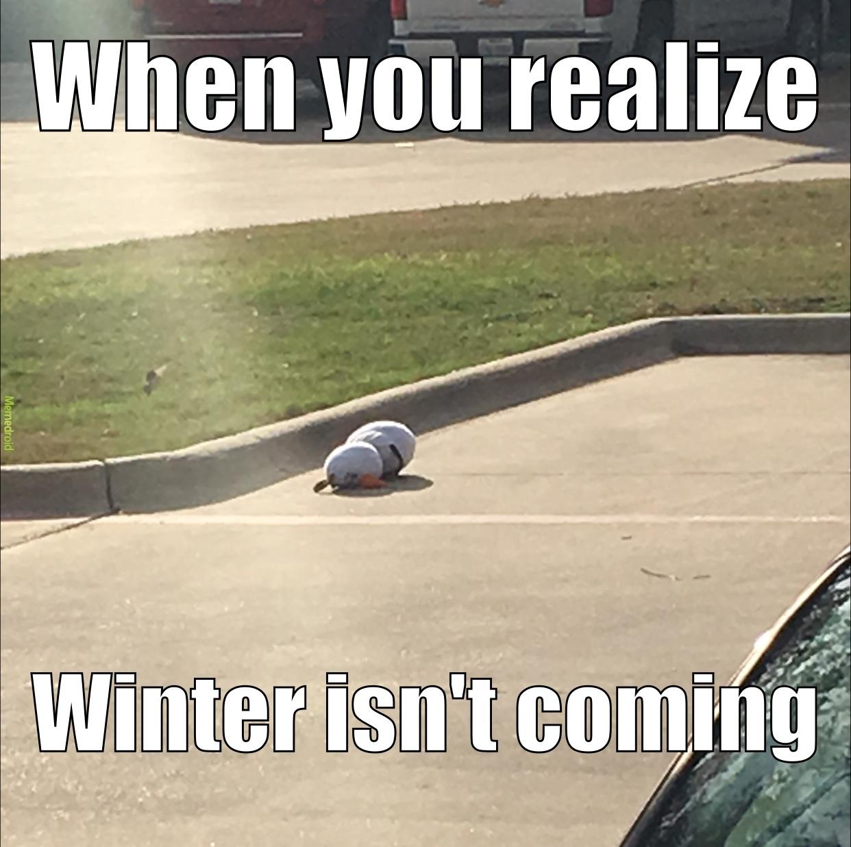 poor Olaf - meme