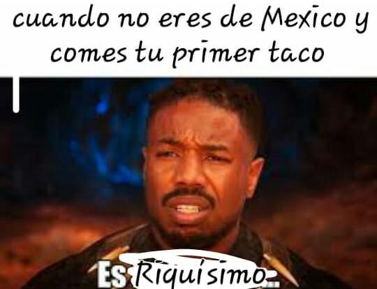 Tacos en argentina - meme