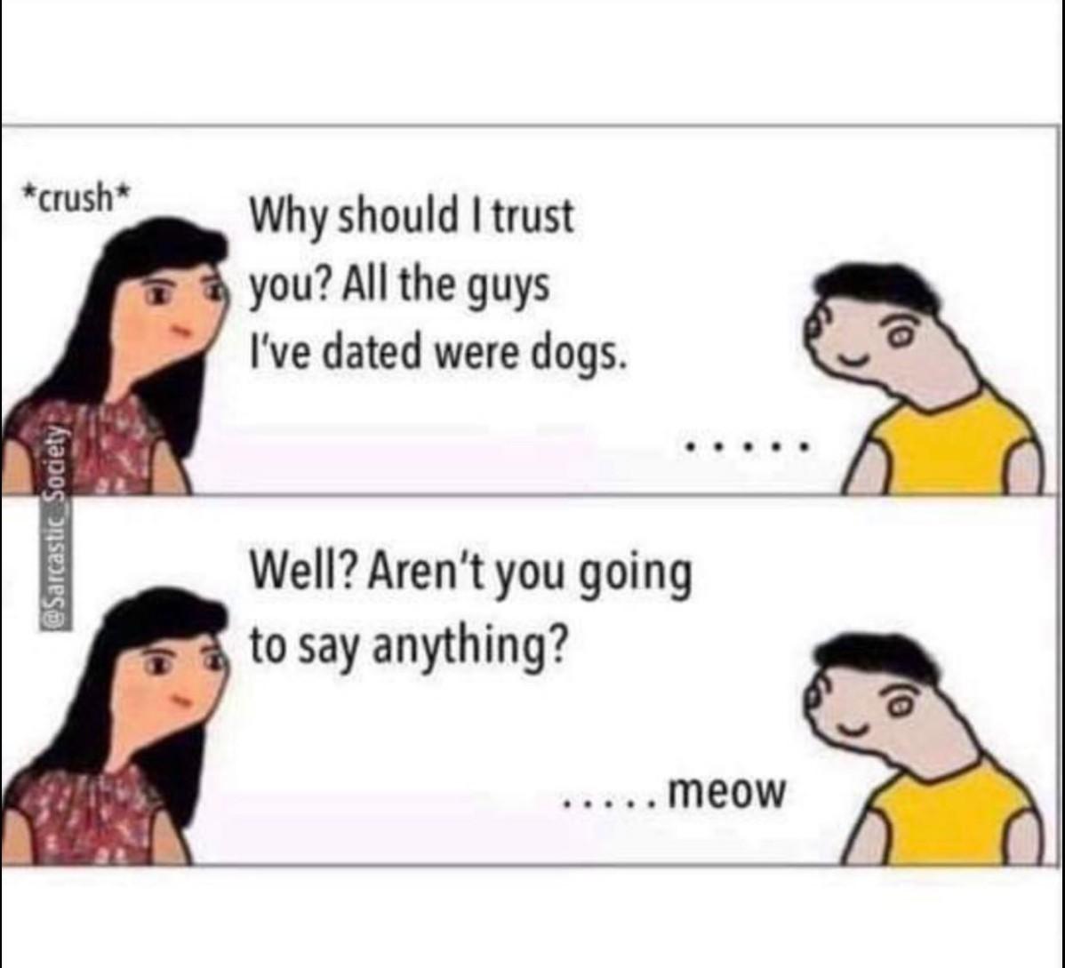 Woof woof - meme