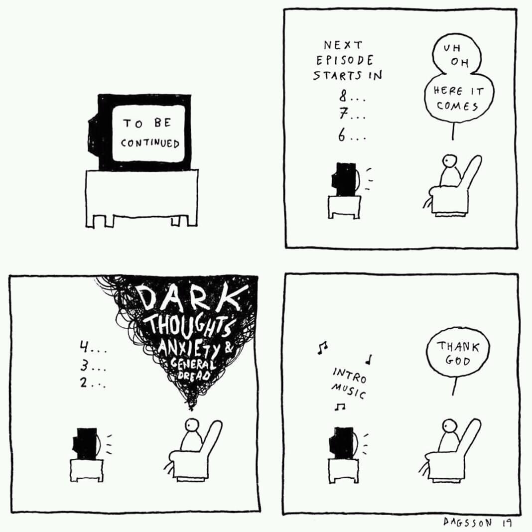 Dark thoughts - meme