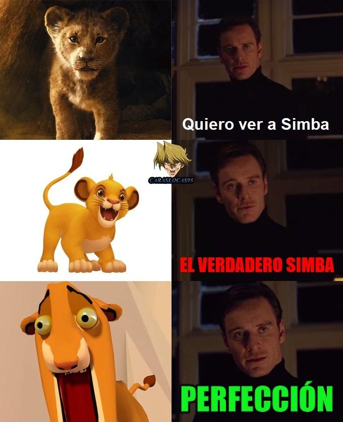 El rey león 2020 - meme