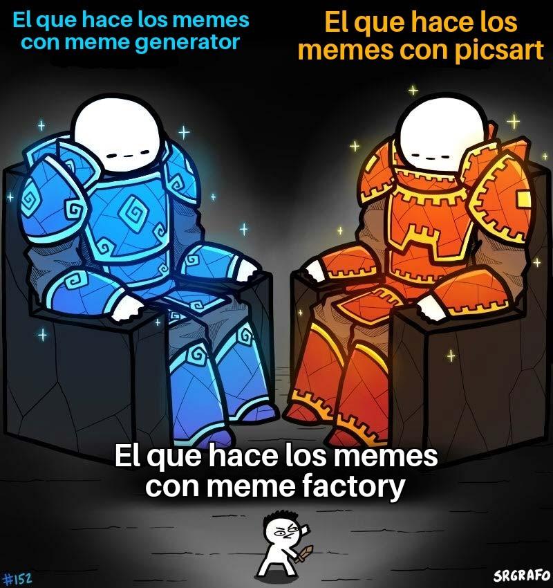 Meme factory es una mierda enorme