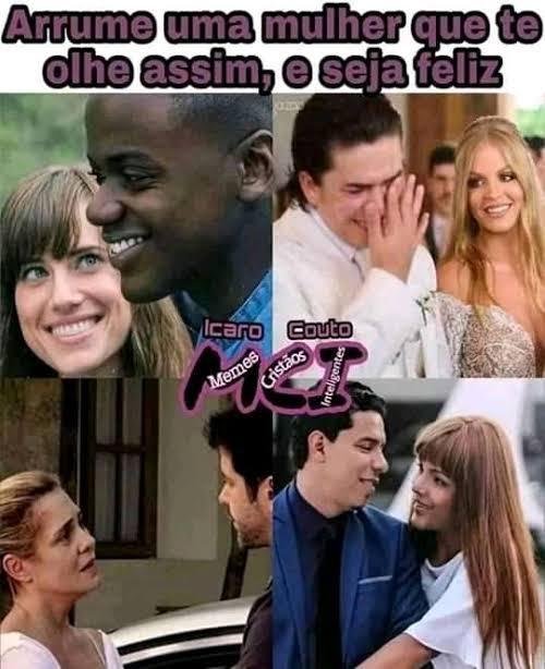O amor é lindo <3 - meme