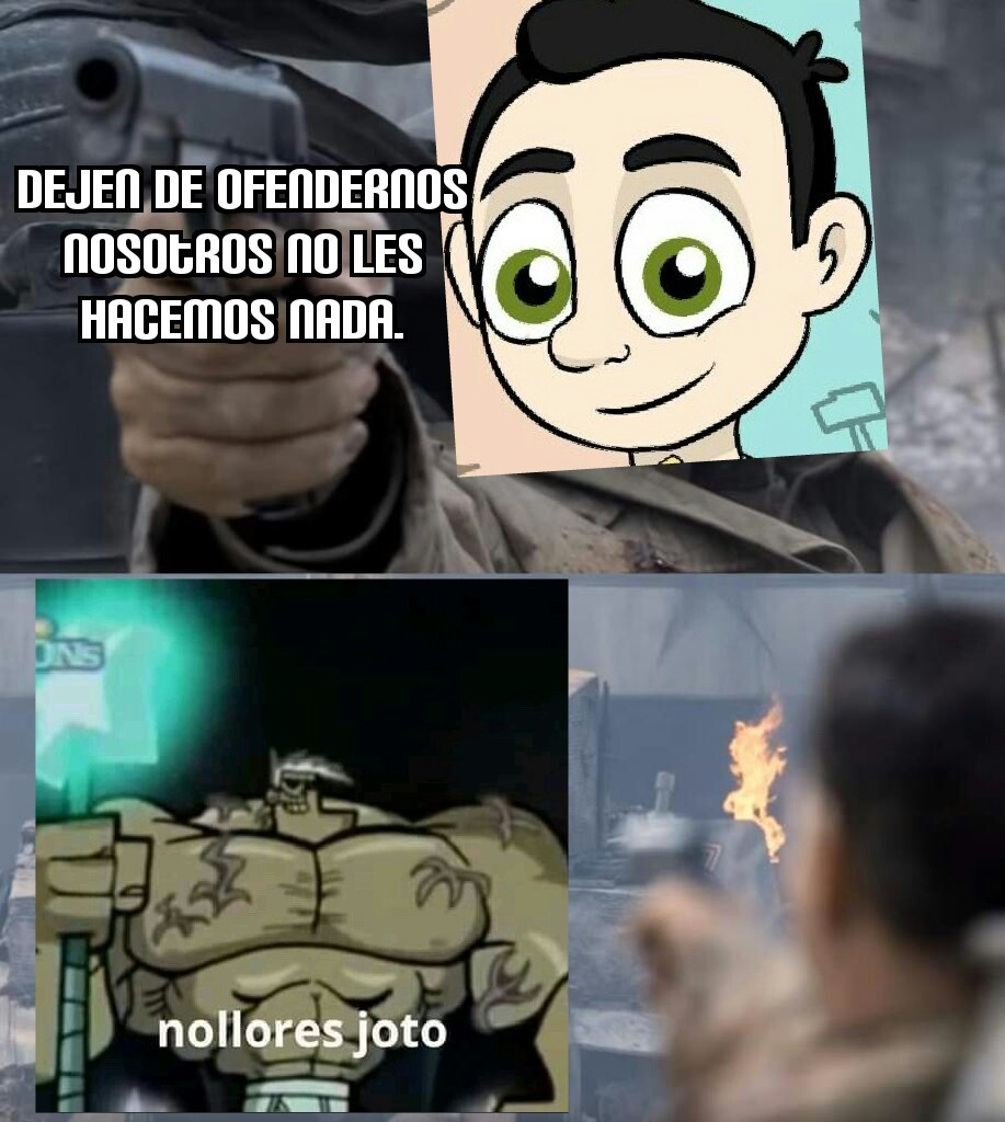 Jotolon no llores - meme