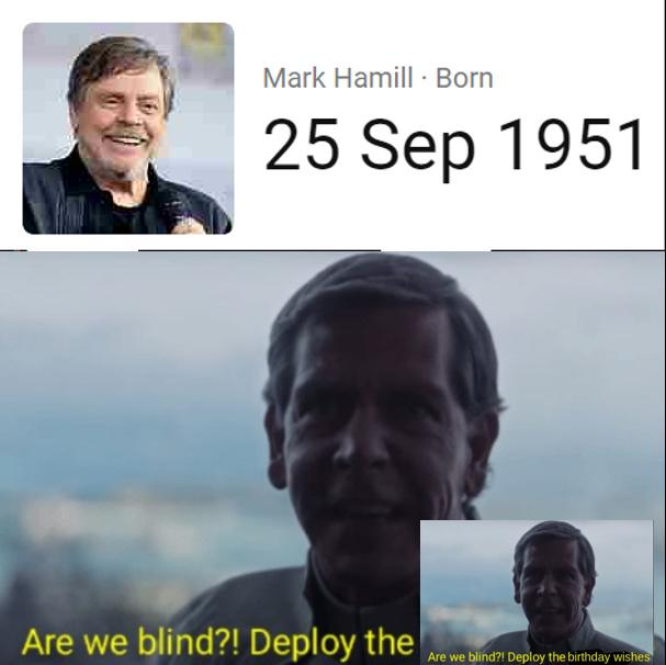 Deploy the birthday wishes! - meme