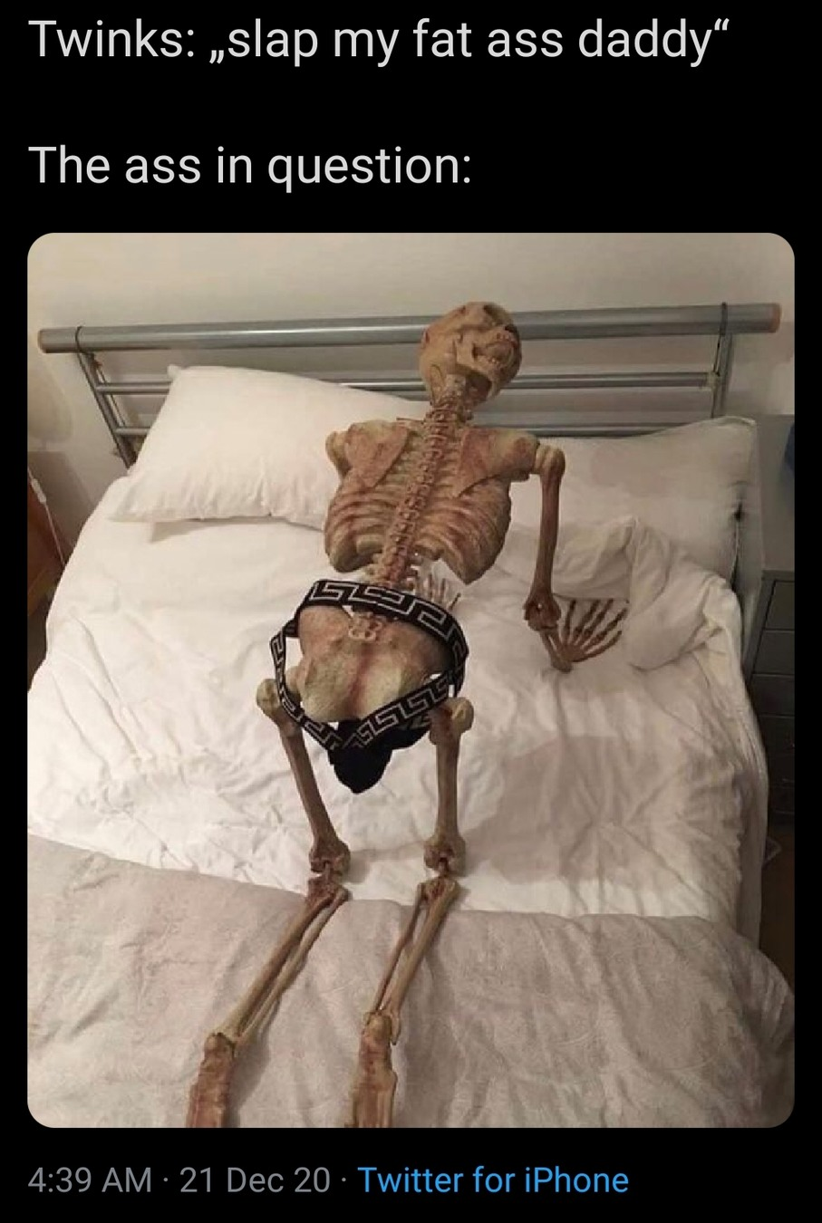 Skeletons - meme