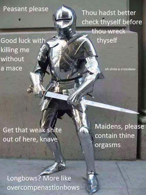 The Best Filthy Peasants Knight Memes Memedroid