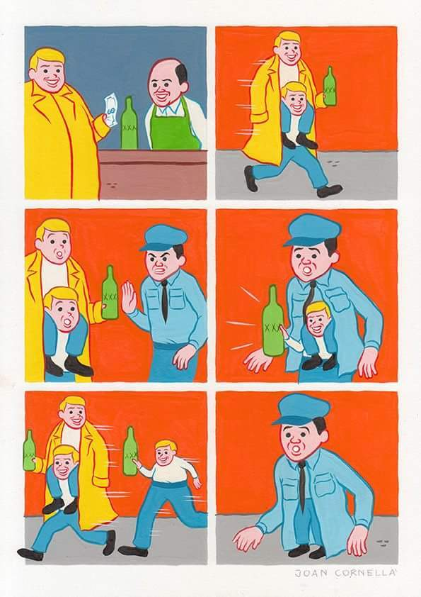 Joan cornella and his fkd up comics - meme