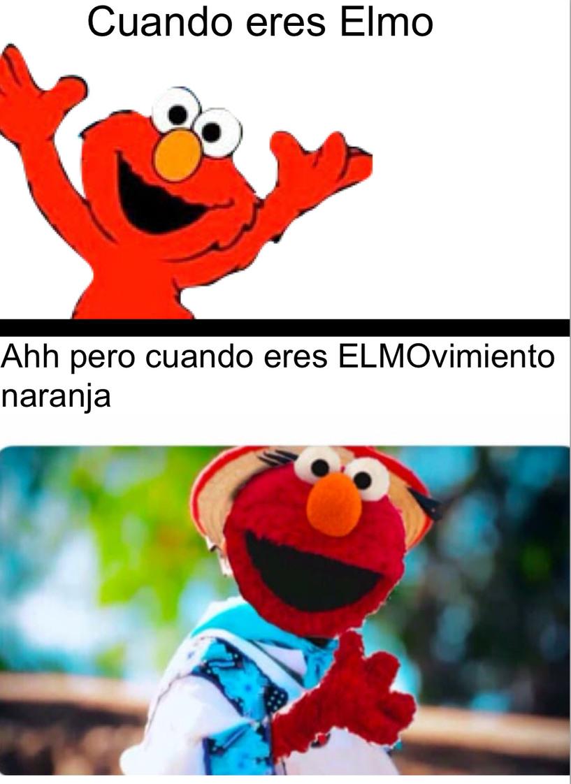Ese movimiento naranja - meme