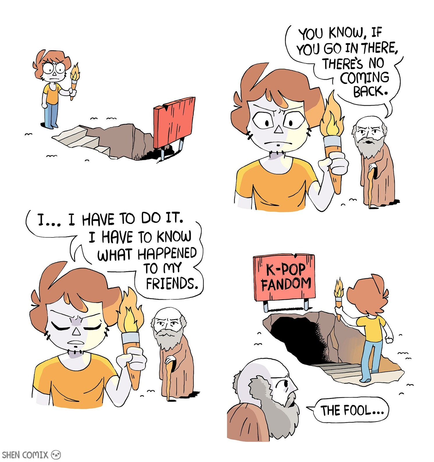 That guy makes really good comics. - meme