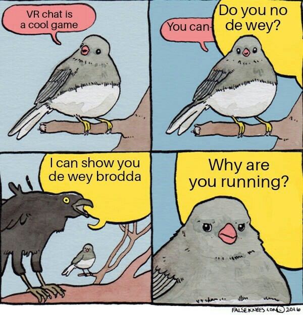 Amixem VR chat - meme