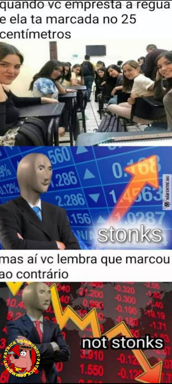 Stonks not stonks - meme