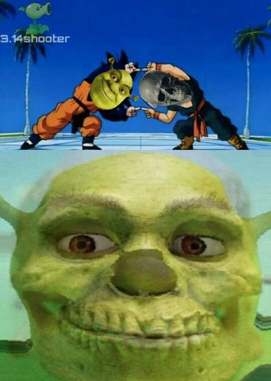 Shrek anti-otakus - meme