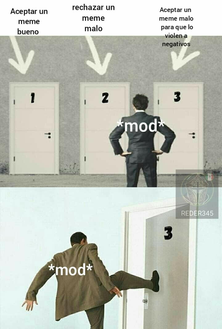 Moderadores simplemente - meme