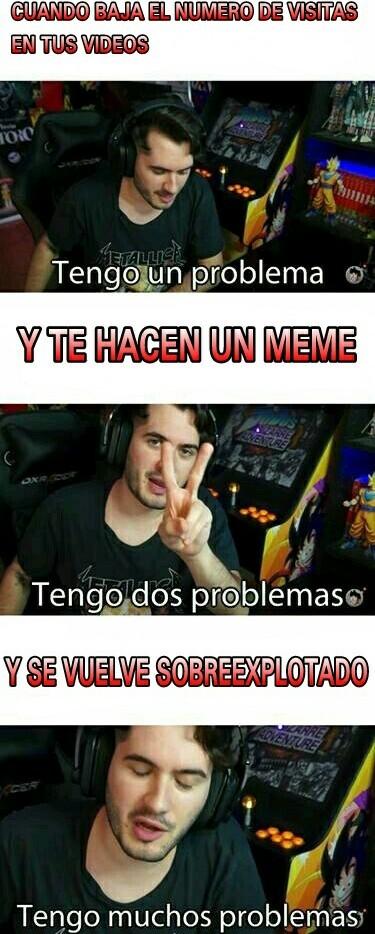 Wismichu y sus problemas - meme