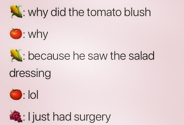 Tomato blush - meme