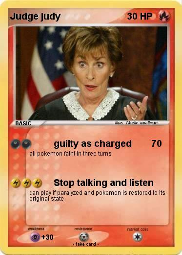 judge judy - meme