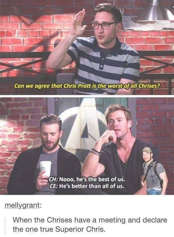 The best Chris - meme