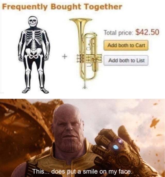 Spooky order - meme