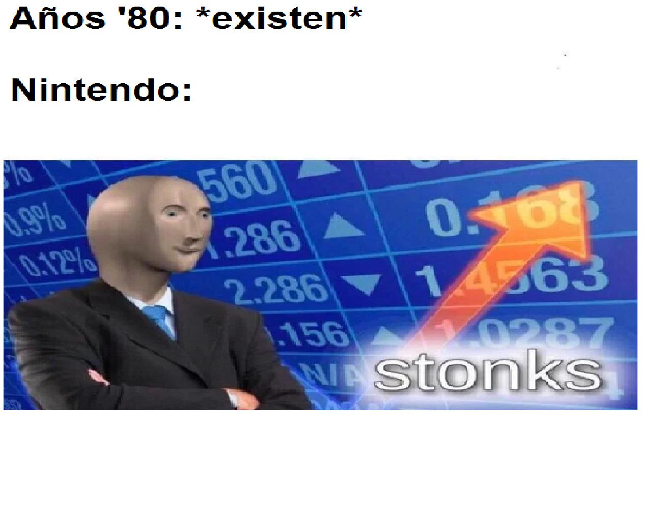 Solo los que compraron la NES entenderan - meme