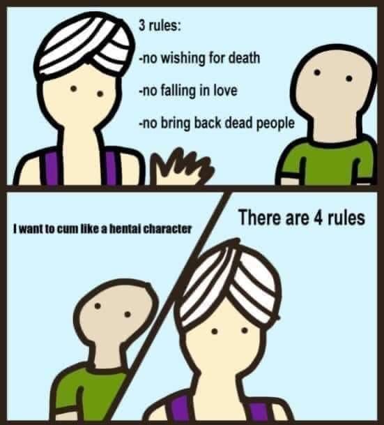 New rule - meme