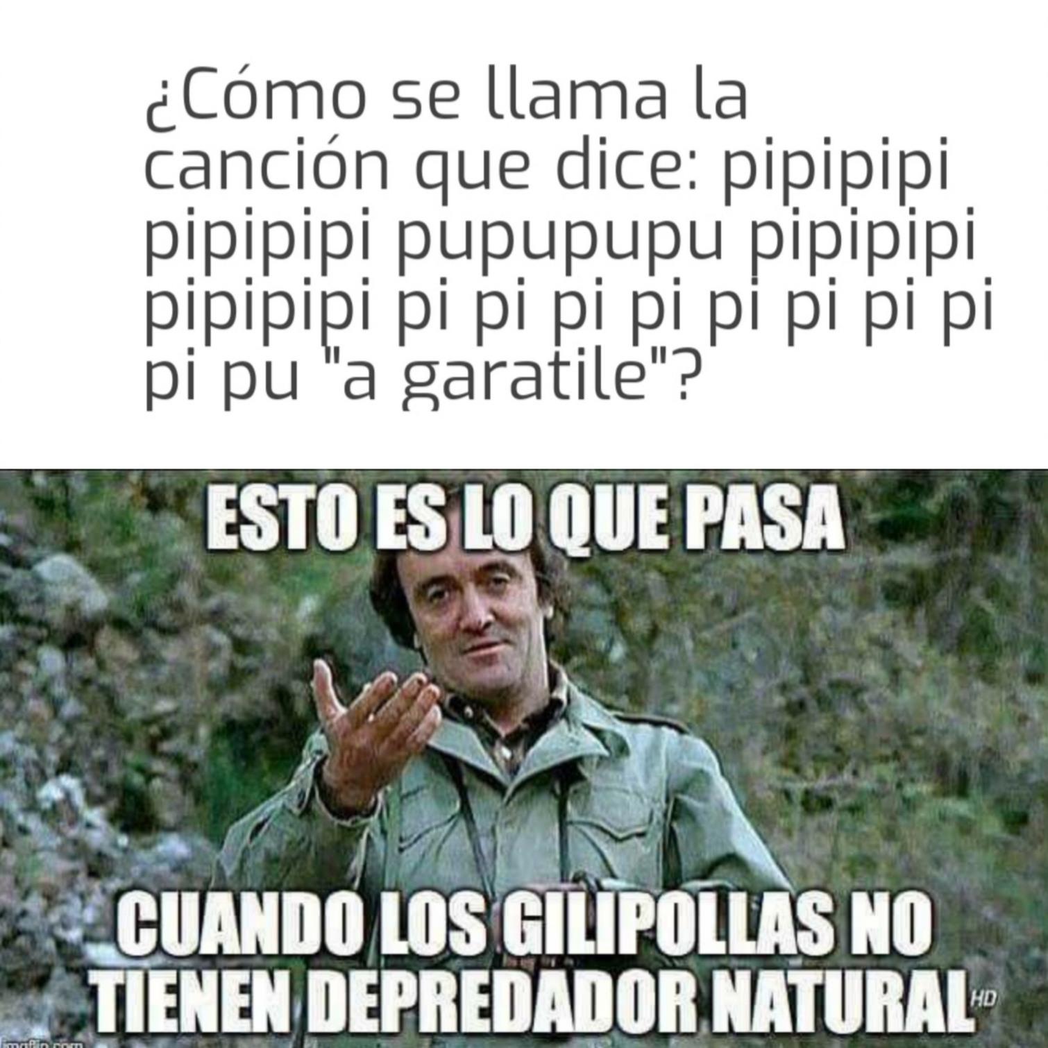 LA CANCIÓN - meme