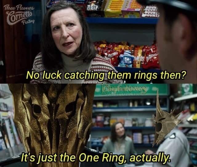 one ring - meme
