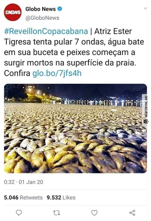 Copacabana, princesinha do mar - meme