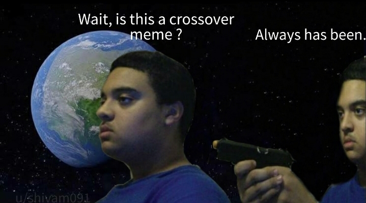 All this time - meme