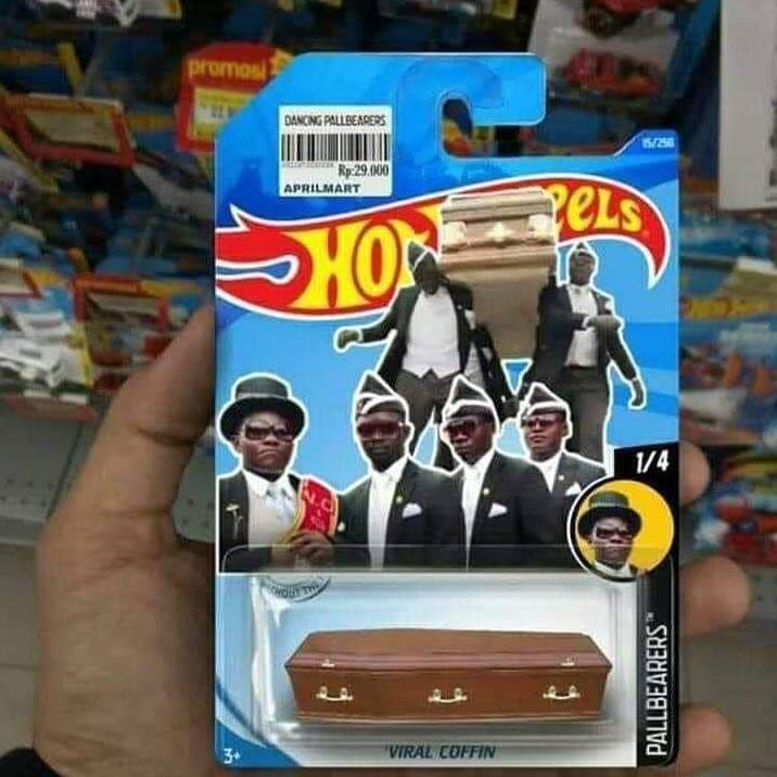 De los creadores de rocky hot wheels llega niga coffin hot wheels - meme