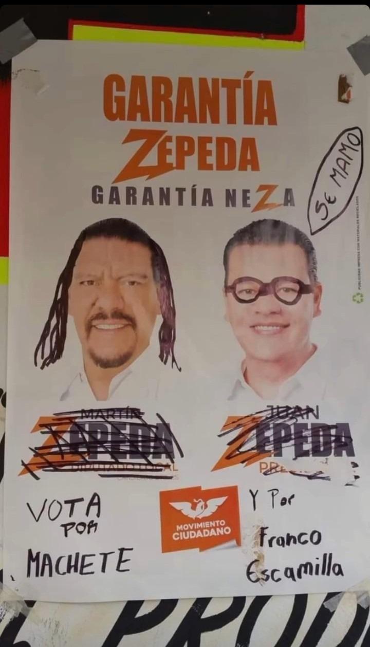 Tocó votar por Machete - meme