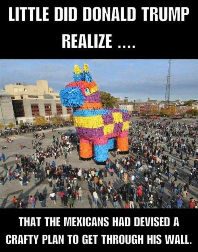 Mexican trojan horse - meme