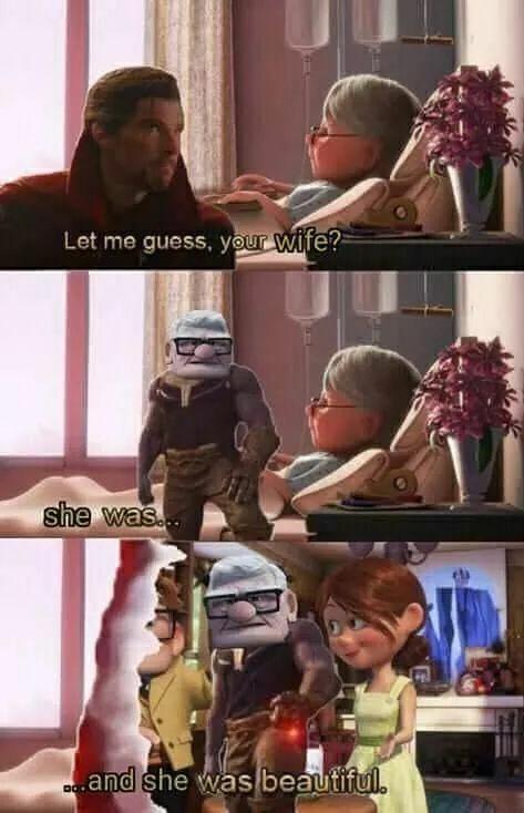 Sad Thanos - meme