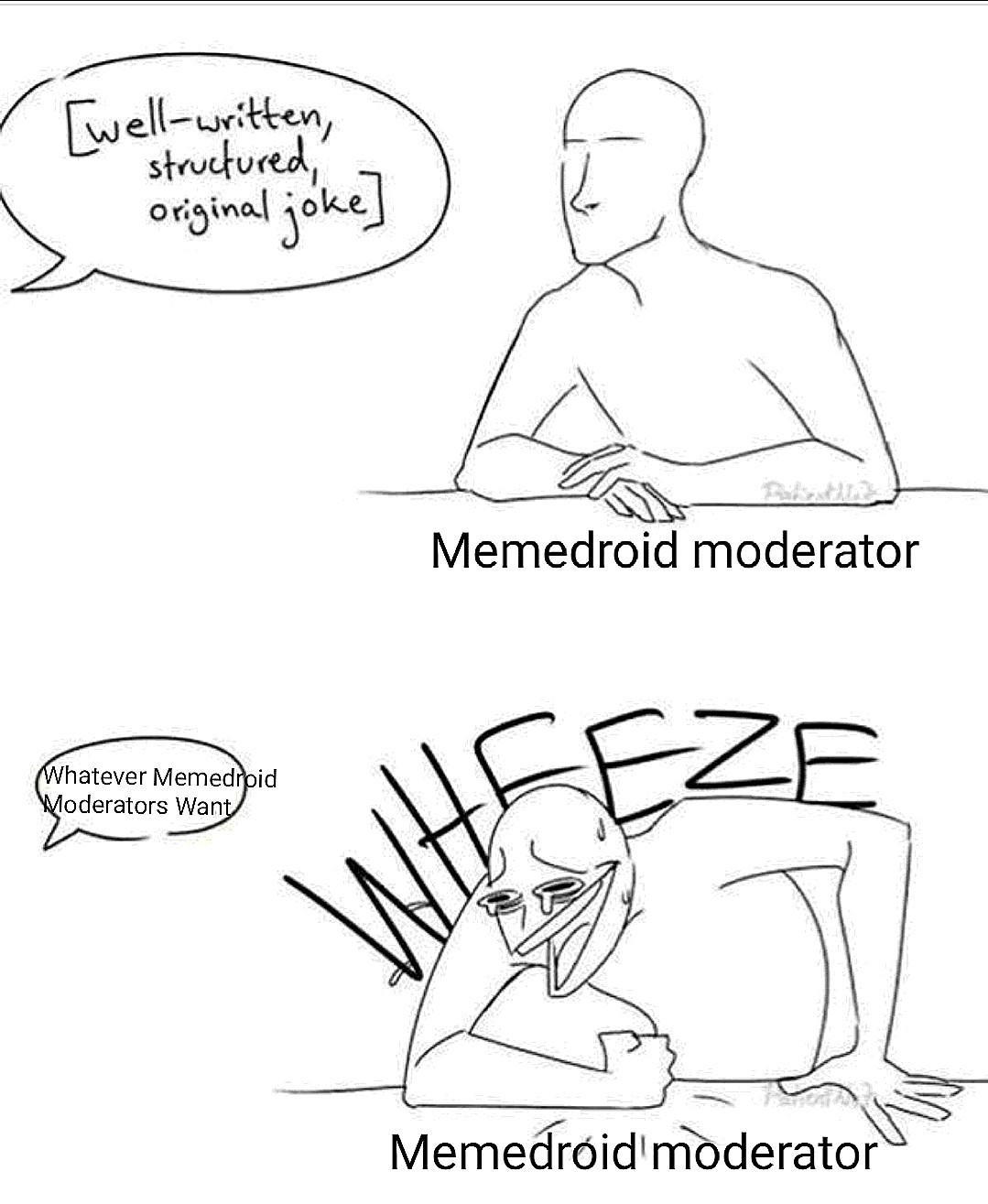 Heccin' Moderators though! - meme