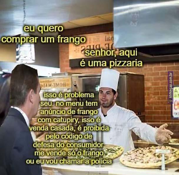 Frango - meme