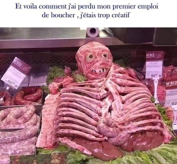 Ça reste de la viande... - meme