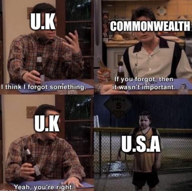 America is just Britain emo kid - meme